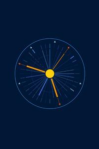 Minimalist Clock 5k