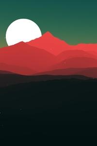 Minimalist Landscape 4k