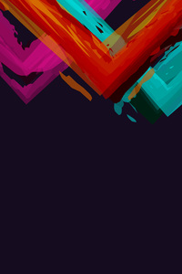 Minimalistic Abstract Colors Simple Background 5k