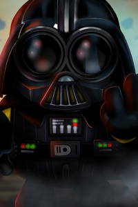 Minion As Darth Vader 4k