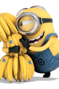 2160x3840 Minion Bananas