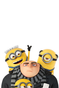 1242x2688 Minions And Gru Despicable Me 3