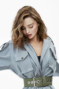 1080x2160 Miranda Kerr Harpers Bazaar 5k