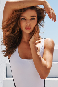 240x400 Miranda Kerr Model Photoshoot