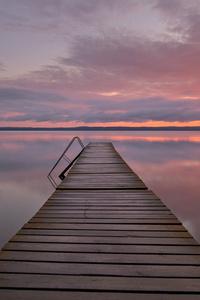 320x480 Mirror Dawn Sunset 5k