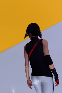 1080x2160 Mirrors Edge Catalyst Game 2018 4k