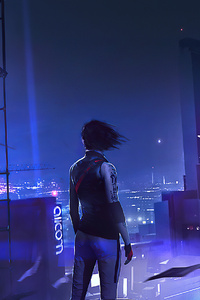 1242x2688 Mirrors Edge Catalyst Game 2019 4k
