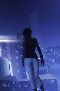 1242x2688 Mirrors Edge Catalyst Game 4k