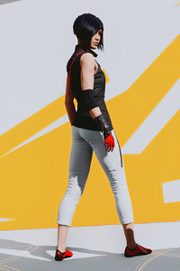 1242x2688 Mirrors Edge Catalyst Have Faith 4k