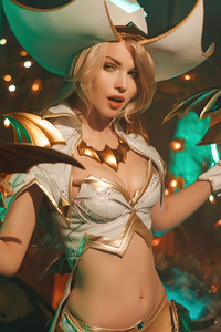 Miss Fortune League Of Legends Cosplay 4k