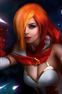 1080x2160 Miss Fortune League Of Legends Cosplay Girl 4k