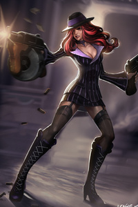 Miss Fortune League Of Legends Fan Art