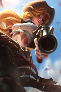 Miss Fortune League Of Legends Fantasy Artwork