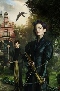 640x1136 Miss Peregrines Home for Peculiar Children 4k