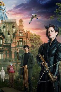 640x1136 Miss Peregrines Home For Peculiar Children Original Poster