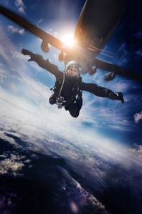 Mission Impossible Fallout Jumping Out Of Plane Poster