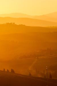 Mist Mountain Landscape Sky 5k