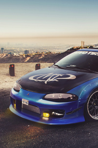 Mitsubishi Eclipse Tribute For Paul Walker