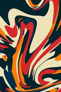 Mix Colors Grafitti Abstract 4k