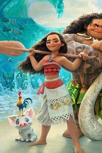 640x1136 Moana 2016 Movie