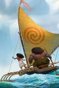 Moana Movie Artwork HD