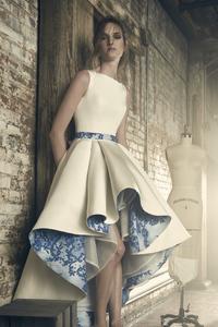 Model In Sareh Nouri Dress