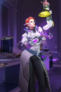 1440x2960 Moira Overwatch In Lab