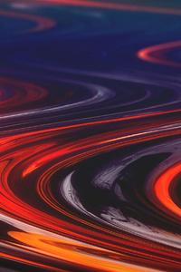 Molten Swirls Abstract 4k