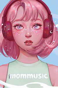 Mom Music Girl 4k
