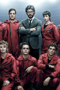 720x1280 Money Heist Season 4 2019