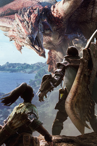 480x800 Monster Hunter World Hd