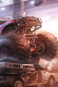 1125x2436 Monster Trucks