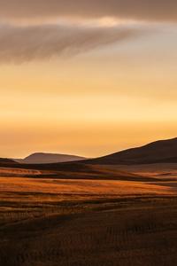 Montana Prairie Montana Plain Evening Light Fuji Color Montana Sunset