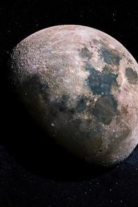 240x400 Moon 4k