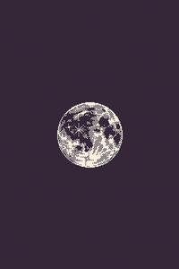 240x320 Moon Bit Art 4k