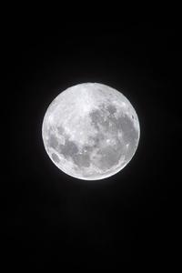 1440x2960 Moon Dark Night 4k