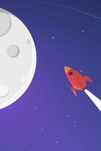 Moon Rocket Minimalism