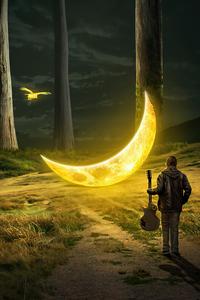 1440x2960 Moon Symphony 5k