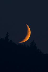Moonset 4k