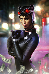 Morena Baccarin As Catwoman 4k