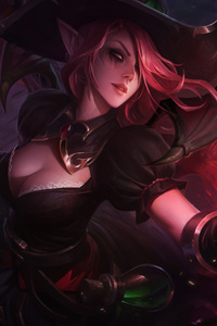 1080x2160 Morgana League Of Legends