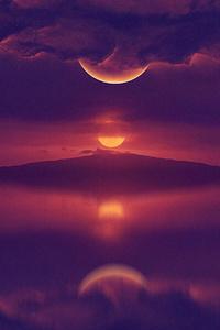 Morning Dark Sunrise