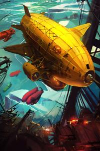 Mortal Engine Ship 4k