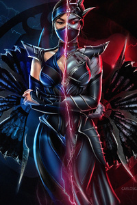 320x480 Mortal Kombat 11 Kitana