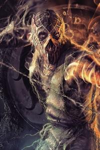 1280x2120 Mortal Kombat Fantasy Artwork 4k