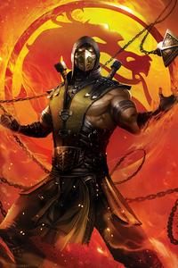 240x400 Mortal Kombat Legends Scorpions Revenge 2020