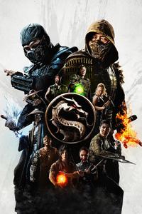 640x960 Mortal Kombat Movie 4k
