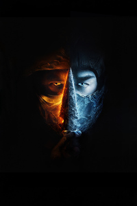 Mortal Kombat Movie Logo 4k