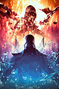 Mortal Kombat Movie Poster 4k