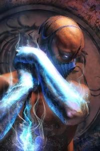 Mortal Kombat Sub Zero 4k